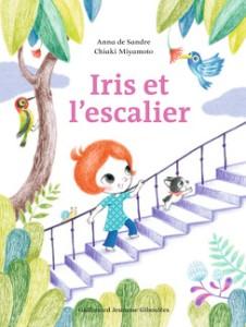 Iris et l'escalier